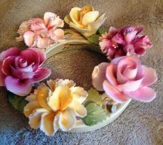 english bone china flowers - Google Search