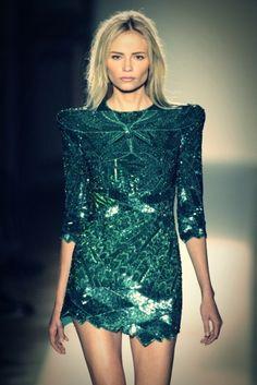 #Sparkling emerald – #FW12 inspiration