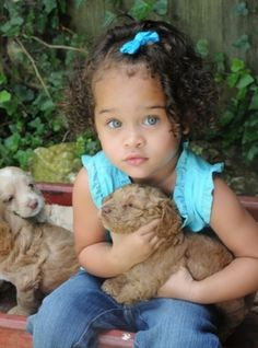 Natural curly hair- how precious is she?