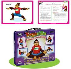 Yogarilla Exercises and Activities - Yoga Card Deck - Super Duper Educational Learning Toy for Kids by Super Duper Publications, http://www.amazon.com/dp/1586508601/ref=cm_sw_r_pi_dp_44aYqb0EY3ZFT