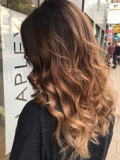 Ombre Hair, Wavy Hair, New Hair, Blonde Hair, Hair Dye, Balayage Brunette, Balayage Hair, Californian Hair, Different Hairstyles