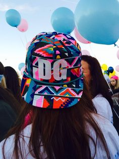 Does ANYONE know where these are from????  Delta Gamma, DG, Sorority, Hats