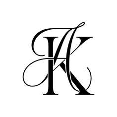 Initials Logo, Monogram Logo, Monogram Letters, Wedding Logos, Monogram Wedding, Two Letter Logo, Tattoo Lettering Fonts, Typography, Fashion Logo Design