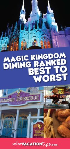 There are hundreds of options when it comes to eating at Disney World we know it can be stressful. In order to help you plan a stress-free trip, we have put together a list for each park ranking how good we think each restaurant is and why! #magickingdom #wdw #disneyfood #disneydining