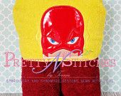 Lighting Man Peeker Applique Embroidery Design (5X7 hoop)