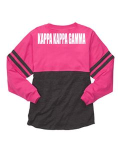 #kappa spirit jersey with optional fronts. Starts at $39.98. #kappakappagamma #greek
