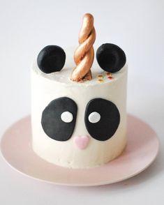Pandacorn for minime Panda Birthday Cake, Bithday Cake, Birthday Fun, Birthday Parties, Cupcakes Design, Panda Cakes, Panda Party, Corn Cakes, Cakes And More
