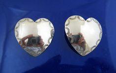 heart concho earrings.