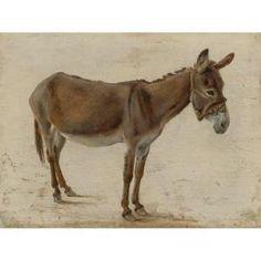 Jacques Laurent Agasse - A Donkey