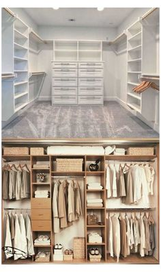 Master Closet Design, Walk In Closet Design, Master Bedroom Closet, Closet Designs, Master Closet Layout, Small Master Closet, Bathroom Closet, Design Bedroom, Master Bedrooms
