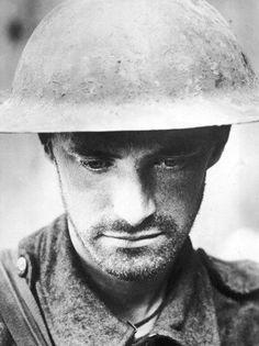 Portrait of a captured Allied soldier, Western...