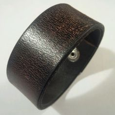 Bracelet -CUFF w snap- #leather brown #basic chic punk #jewelry #street accessories    http://www.ebay.com/itm/Bracelet-CUFF-Leather-Brown-Basic-Chic-Punk-Motor-Street-Accessories-w-Snap-/232249501802?roken=cUgayN&soutkn=u7LAaA via #eBay #PINit!