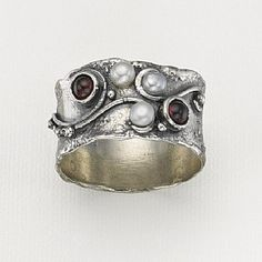 Silver Rings: Buy Heart & Soul Ring from Pia Jewellery