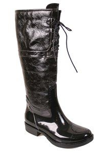 Adorable rain boots on Black Harley Rain Boot by Nomad Footwear