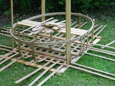 Coracle forum with a great photo tutorial on one way to build a coracle.