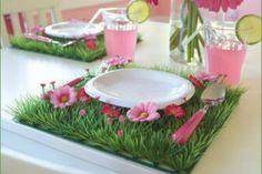 grass table mat