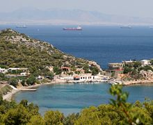 VISIT GREECE| Portofino, Salamina island! Mykonos, Santorini, Beautiful Islands, Beautiful Places, Planet Earth 2, Greek Town, Visit Greece, Future Travel, Ancient Greece
