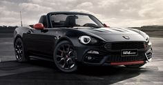 You Can Now Configure Your Own Abarth 124 Spider Online #Abarth #Configurator