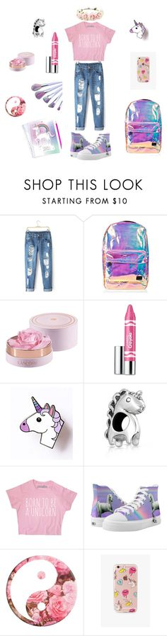 """""""Unicorn Dream"""" by mhohmeyer on Polyvore featuring Mode, Spiral, Lancôme, Clinique, Bling Jewelry und The Casery"""