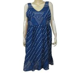 Printed Summer Clothes for Women, Cotton Sundress