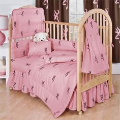 Kimlor Buckmark Pink Crib Sheet and Pillowcase Las Vegas Furniture Online | LasVegasFurnitureOnline.com | LasVegasFurnitureOnline