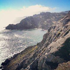 Muir Beach, just outside of SF