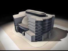 Walter Gropius Total Theatre 3d Visualization. on Vimeo