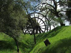 Mining Wheel Jackson California by ZViolet, via Flickr