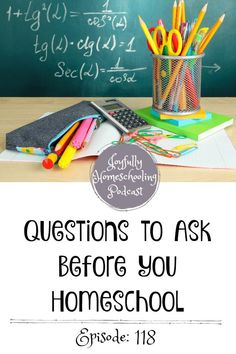 Before you homeschool you should ask yourself a few questions. These questions can help you get through your first year of homeschooling like a pro! How To Start Homeschooling, Homeschooling Resources, Homeschool Curriculum, Hands On Learning, Fun Learning, Learning Activities, Learning Styles, Inspirational Thoughts, Teaching Tips