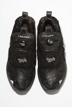 8eb353331ef Chanel Reebok Custom Sneakers