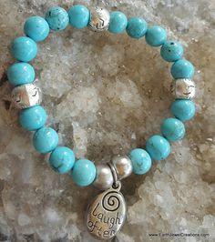 Handmade with love in Noosa Australia. Gemstone Bracelets, Gemstone Jewelry, Chakra Jewelry, Yoga, Turquoise Gemstone, Crystal Jewelry, Jasper, Gemstones, Inspiration
