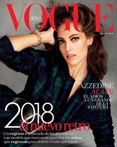 Othilia Simon covers #Vogue Mexico January 2018 by Chris Colls