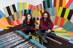 Seripop chez Engramme: big bang de couleurs