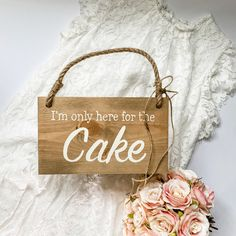Funny Wedding Signs, Wooden Wedding Signs, Rustic Signs, Wedding Humor, Wedding Day, Aisle Style, Wedding In The Woods, Hanging Signs, Rustic Style