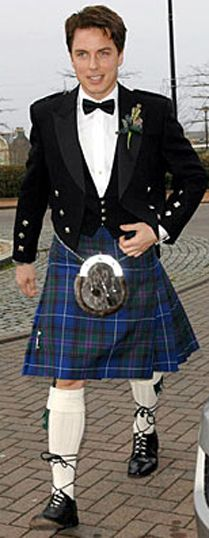 John Barrowman in a kilt.  Actor