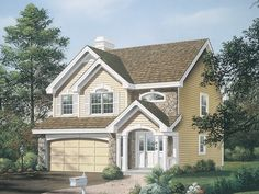 The Glencoe Greek Revival Home has 3 bedrooms, 2 full baths and 1 half bath. See amenities for Plan 007D-0114.