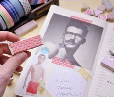 handcarved polka dot washi tape stamp from Memi The Rainbow http://www.etsy.com/shop/MemiTheRainbow