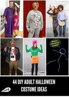 44 DIY adult Halloween costumes