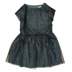 Bonton Blue Tulle Dress $188.00