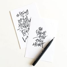 """By @adriennesart #30daysofbiblelettering"""