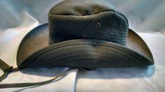 Vintage LL Bean Cowboy Safari Fishing Hat Aussie Outback Size 7 1/4 #LLBean #CowboyWestern