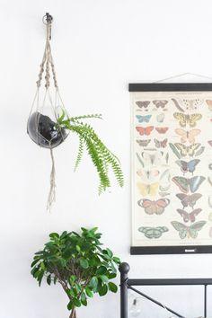 Cityscape Bliss // UK lifestyle blog based in Birmingham: DIY hanging macrame planter