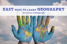 Easy Ways to Learn Geography: Here are some super-simple ways to teach geography at home or in your homeschool!