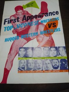 top japanese wrestlers vs ruqqed western wrestiers
