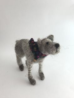 Needle-felted dogs by PerinBaba on Etsy