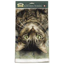 Fiddlers Elbow Perculiar Perspective Cat Mouse Pad: Polyester face, urethane backing, permanently dye printed & fade resistant. Size 9 inches wide x 8 inches tall. Cat Merchandise, Cute Whales, Cat Cushion, Cat Mouse, Boston Terrier Dog, Dish Towels, Tea Towels, Cat Gifts, Beautiful Creatures