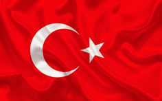 Download wallpapers Turkish flag, Europe, Turkey, world flags, Turkey flag