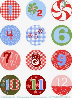 Imprimolandia: Calendarios de Adviento (3)