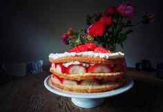 strawberry cake #food #design