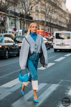 Street Style Outfits, Looks Street Style, Mode Outfits, Street Style Women, Street Styles, Fashion Outfits, Street Style Trends, Women's Street Style, Stylish Street Style